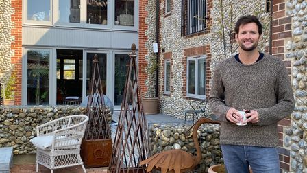 Sam Cutmore-Scott, managing director of The Harper, a new boutique hotel in the former home of Langh