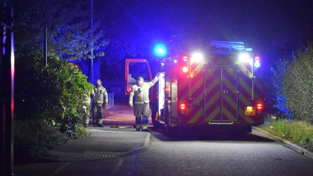 The fire is believed to have started around 7pm on Sunday night.