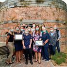 The Brannam Medical Centre team celebrate two award wins this month