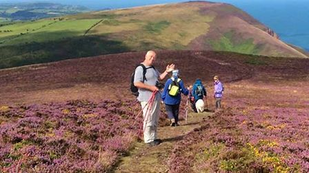 The North Devon Ramblers out and about enjoying some of the area's spectacular coastal paths