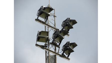The lights will be used for the first time in the Somerset Premier Cup with Bath.