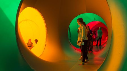 Albesila Luminarium will take families on an adventure through a collection of coloured tunnels