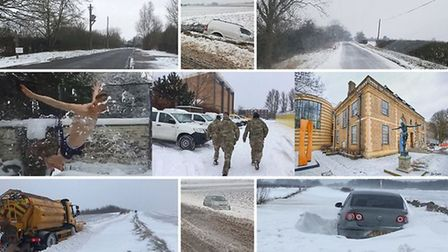 Snow hit Cambridgeshire in early 2018 making it one of the coldest winters in recent years.