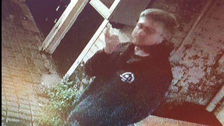 Police would like to speak to this man in connection with the incident.
