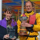 Annette Walter and Michael Ettershank were the winners ofWelwyn Garden City Sailing Club's Punchbowl Trophy.