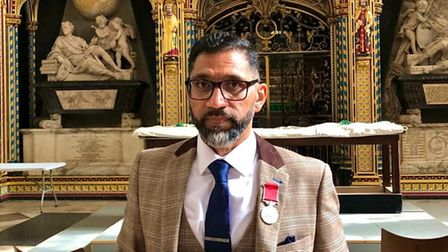 Idris Patel at the Palace of Westminster last week