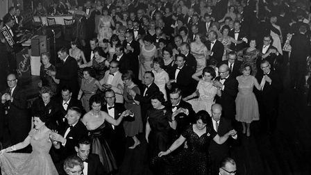 Dancers at Stevenage's Locarno Ballroom, which opened 60 years ago