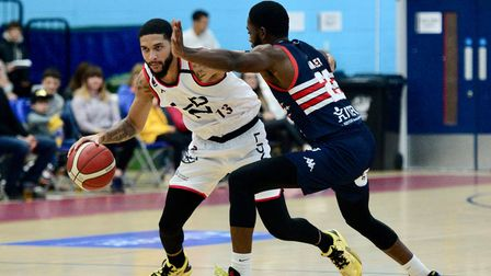 London Lions in action against Bristol Flyers