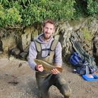 Daniel Patrick with a 3 1/2 lbs Wrasse