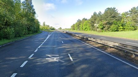 A motorcyclist has died at the scene of a serious collision near St Neots on theB645 slip road of the A1 Northbound.