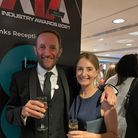 ilabowners Paul and Jane Selvey at the awards event in London