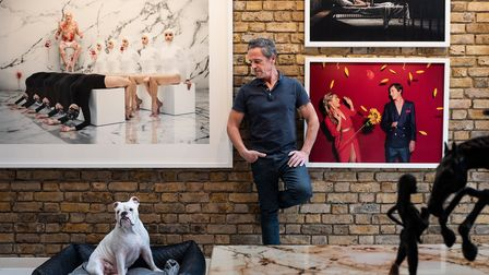Philipp Humm at home in Hampstead