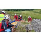 Group of Moorland rescuers