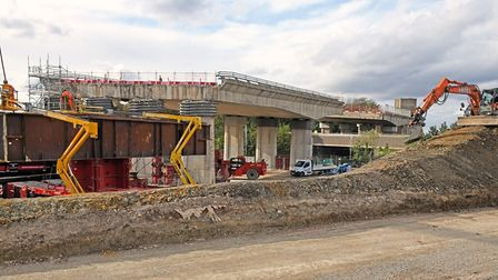 First stage of the removal of the Huntingdon viaduct will take place this month.