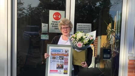 The heart and soul of the North Devon Gazette office, Julie Williams