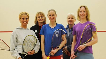 Melbourn Squash Club are getting back to both casual and competitive play.