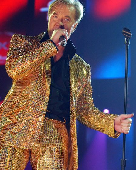 Martin Fry from 1980s group ABC, performs during a charity concert, to celebrate the career of music