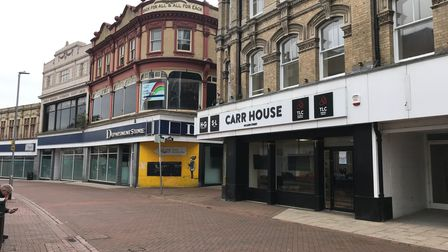 Carr House in Carr Street, Ipswich