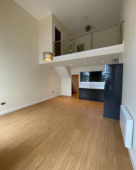 An interior of one of the new developments in Carr House, the former Ipswich Co-op HQ
