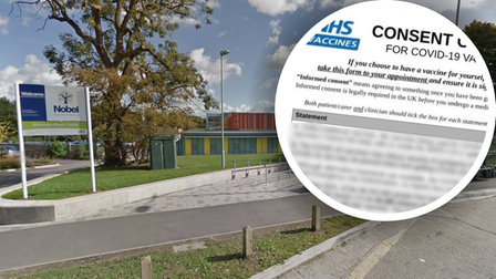The Nobel School in Stevenage has confirmed it distributed the hoax Covid-19 letter