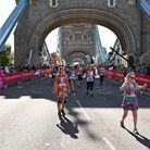 Laura managed to complete the marathon in just over five hours fifty minutes.