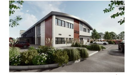 A artists impression of what the Fire Station will look like when it is complete.