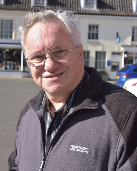 Development in Aylsham is creating problems within the infrastructure of the town. Graham Reeve Byli