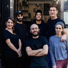 The Haberdashery staff in Stoke Newington, which has now closed.