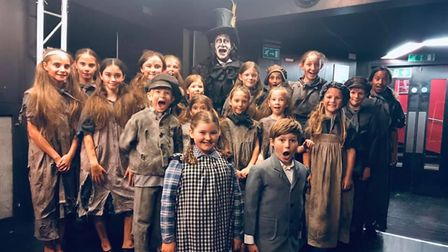 Lots of young people from EYT were involved in Chitty Chitty Bang Bang at Open Youth Trust.