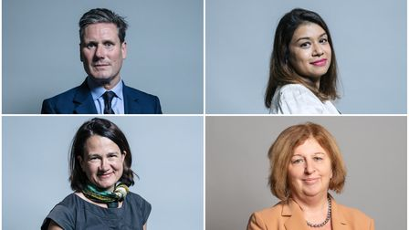 Clockwise from top left: Keir Starmer, Tulip Siddiq, Karen Buck and Catherine West