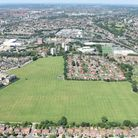 Aerial image of Clitterhouse Playing Fields
