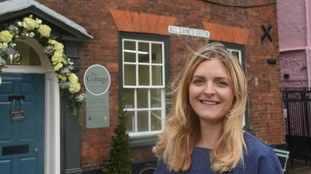 Jemma Winzor-Saile, owner of The Cottage hair and beauty on All Saints Green in Norwich. Picture: Da