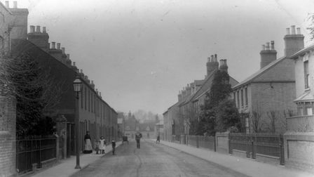East Street in St Neots around 1900.