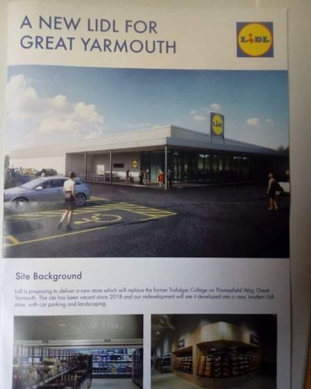 New Lidl planned for old Great Yarmouth College building