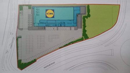 New Lidl store planned for Trafalgar College site