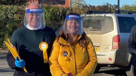 The Liberal Democrat candidate for Reepham, Sue Catchpole