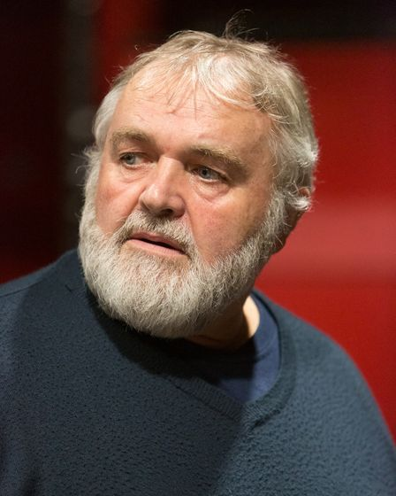 Phil Cory is Macduff in Shakespeare's Macbeth, directed by Brian Ralph, for the Gallery Players