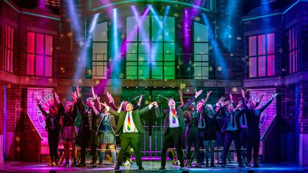 The cast of Heathers The Musical - UK Tour 2021
