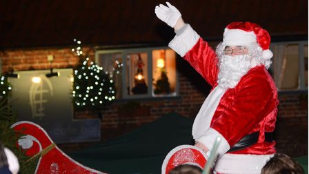 A Christmas market, ice skating and a live animal nativity scene are planned to entertain families during the annual Swaffham Light Switch on