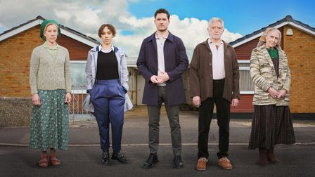 The stars of the new ITV drama The Long Call.
