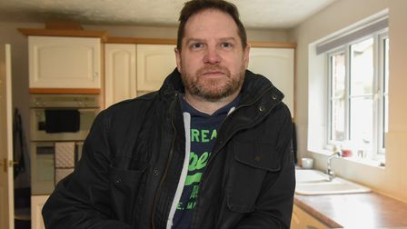 Jon Riley, from Horsford, who is one of the residents worried about flooding. Picture: Danielle Bood