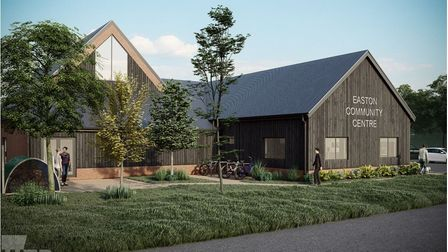 An artist's impression of the proposed Easton Community Centre