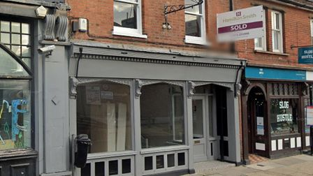 The unit in Great Colman Street, Ipswich, which is being taken over by Quest Dental Care