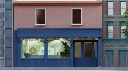 How the new Quest Dental Care surgery in Great Colman Street, Ipswich will look