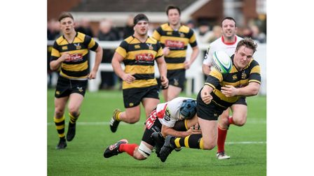 Captain Parker made his 150th appearance for Hornets againstOld Redcliffians.