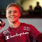 Shannon Courtenay during a public workout at the Grand Central Hall, Liverpool. Picture date: Wednes