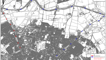Holt Road and Cromer Road resurfacing works in Norwich by Norfolk County Council