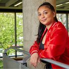 Islington student Layla Sbila has learned to managedyslexia during her studies.