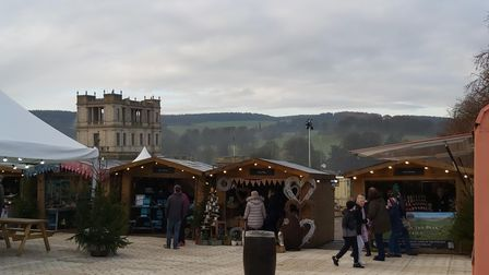 Chatsworth's 2019 Christmas market - a magical place
