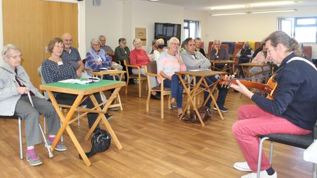Portishead Memory Cafe has first meeting in 18 months.